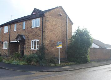 Thumbnail 1 bed semi-detached house for sale in Woodhouse Close, Markfield