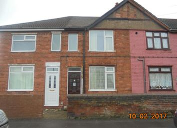 Thumbnail 3 bed terraced house to rent in Queens Crescent, Edlington, Doncaster