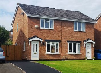 Thumbnail 2 bed semi-detached house to rent in Walker Crescent, St Georges, Telford