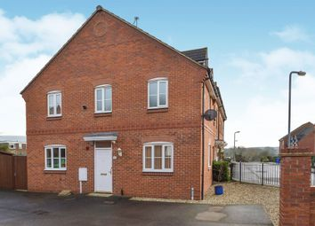 Thumbnail 3 bedroom end terrace house for sale in The Meadows, Old Stratford, Milton Keynes