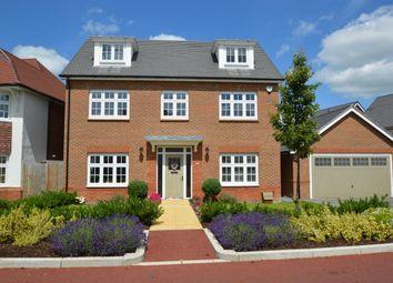 Thumbnail 5 bedroom detached house for sale in Jennetts Park, Bracknell