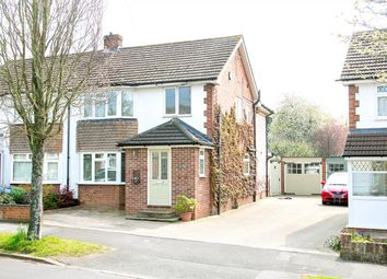Thumbnail 3 bed semi-detached house for sale in Morley Road, Harrow Way, Basingstoke