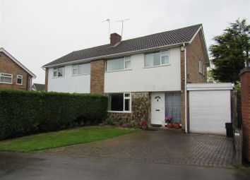 Thumbnail 3 bed semi-detached house for sale in Yarwell Drive, Wigston