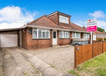 Thumbnail 4 bed bungalow for sale in Coronation Road, Hellesdon, Norwich
