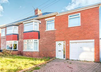 Thumbnail 3 bed semi-detached house for sale in Whitby Avenue, South Bents, Sunderland