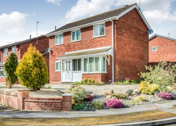 Thumbnail 3 bed detached house for sale in Jersey Close, Church Hill North, Redditch