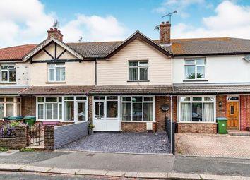 Thumbnail 3 bedroom terraced house for sale in Town Cross Avenue, Bognor Regis, ., West Sussex