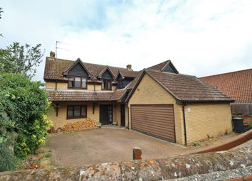 Thumbnail 4 bed detached house for sale in Back Lane, Badwell Ash, Bury St. Edmunds