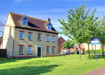 Thumbnail 5 bedroom detached house for sale in School Lane, Lower Cambourne, Cambourne, Cambridge