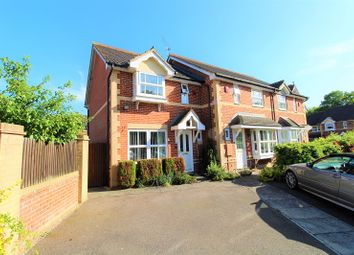 Thumbnail 2 bed semi-detached house for sale in Phillips Close, Maidenbower, Crawley, West Sussex.
