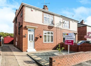 Thumbnail 3 bed semi-detached house for sale in Kilton Close, Worksop