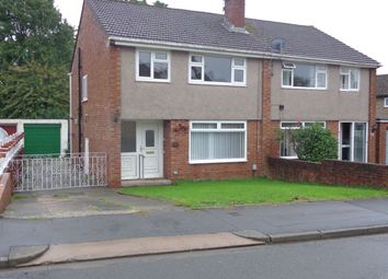 Thumbnail 3 bed semi-detached house to rent in Wavell Drive, Newport