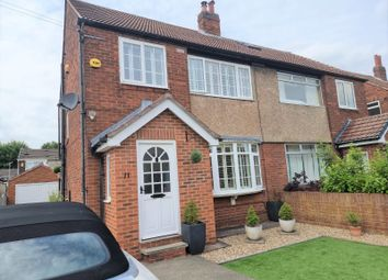 Thumbnail 3 bed semi-detached house for sale in Sandiford Terrace, Leeds, West Yorkshire