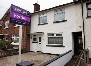 Thumbnail 2 bed terraced house for sale in Rossdowney Avenue, Londonderry