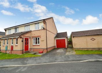 Thumbnail 3 bed semi-detached house for sale in Petrel Close, Stockport, Cheshire