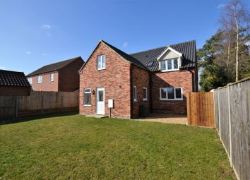 Thumbnail 4 bed detached house for sale in Mill Lane, Briston, Melton Constable, Norfolk.