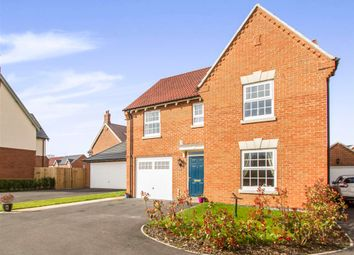 Thumbnail 4 bed detached house for sale in Frances Way, Ibstock