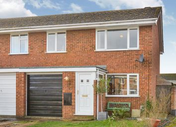 Thumbnail 3 bed semi-detached house for sale in Holland Way, Newport Pagnell