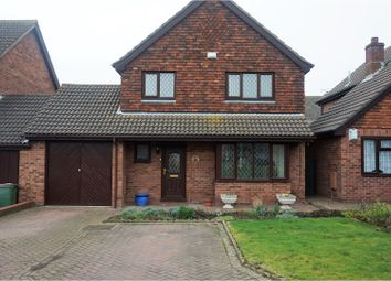 Thumbnail 4 bed link-detached house for sale in Upton Close, Folkestone