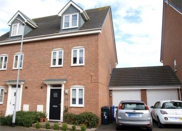 Thumbnail 4 bed town house for sale in Saw Mill Way, Burton-On-Trent, Staffordshire
