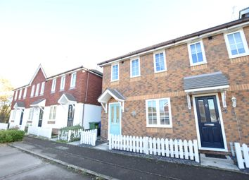 Thumbnail 2 bed end terrace house to rent in Hebbecastle Down, Warfield, Bracknell, Berkshire