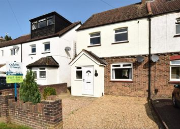 Thumbnail 3 bed semi-detached house for sale in Honeycrock Lane, Redhill, Surrey