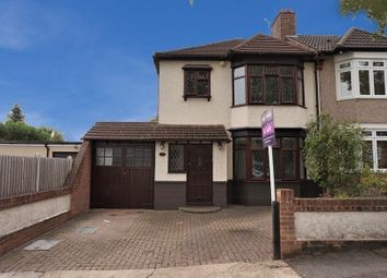 Thumbnail 3 bed semi-detached house for sale in Rosslyn Avenue, Romford