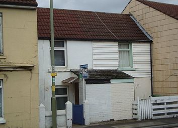 Thumbnail 1 bed terraced house to rent in Churchill Mews, Forton Road, Gosport