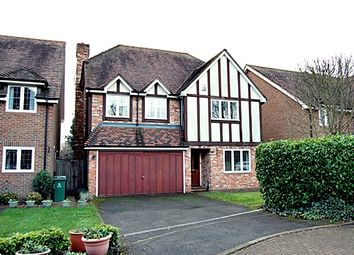 Thumbnail 4 bed detached house to rent in Somerford Place, Beaconsfield
