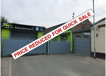 Thumbnail Light industrial for sale in Meadowdale Works, Dimminsdale, Willenhall