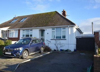 Thumbnail 2 bed semi-detached bungalow for sale in Elmfield Crescent, Exmouth