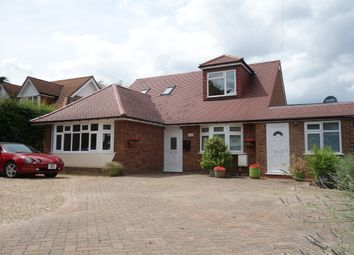 Thumbnail 5 bed detached bungalow for sale in Dixons Hill Road, Welham Green, Herts