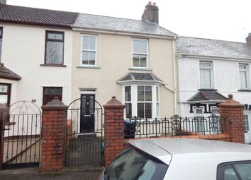 Thumbnail 3 bed terraced house for sale in Harcourt Road, Brynmawr, Ebbw Vale