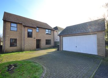 Thumbnail 5 bed detached house to rent in The Coppice, Littleport, Ely