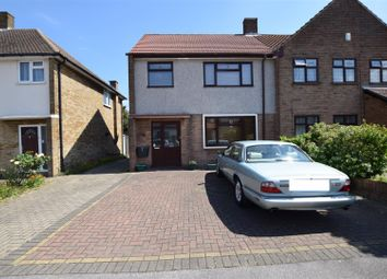 Thumbnail 3 bed semi-detached house for sale in Freshwell Avenue, Chadwell Heath, Romford