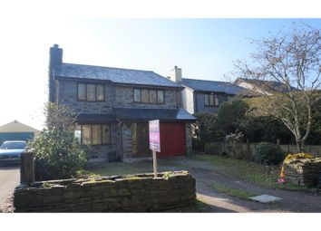 Thumbnail 4 bed detached house for sale in Lower Metherell, Callington