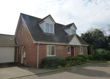 Thumbnail 3 bed detached house to rent in School Close, Lakenheath, Brandon