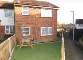 1 bed end terrace house for sale in Gainsborough Drive, Houghton Regis, Dunstable LU5