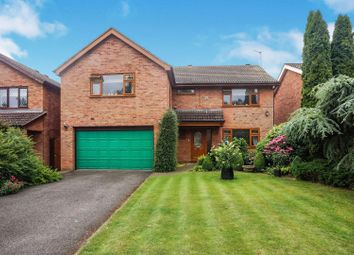 Thumbnail 4 bed detached house for sale in Manor Court, Nettleham