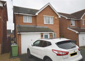 Thumbnail 3 bed detached house for sale in Silver Well Drive, Staveley, Chesterfield, Derbyshire