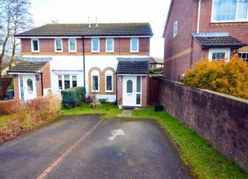 Thumbnail 3 bed semi-detached house for sale in Pant Yr Heol Close, Henllys, Cwmbran