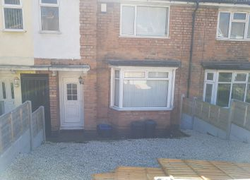 Thumbnail 3 bed terraced house to rent in Hawkesyard Road, Erdington, Birmingham