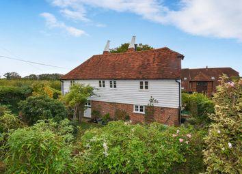 Goudhurst Road, Cranbrook TN17. 3 bed detached house for sale
