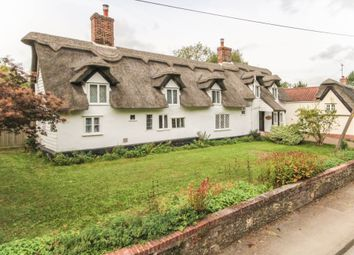 Thumbnail 3 bed cottage for sale in The Street, Lidgate, Newmarket