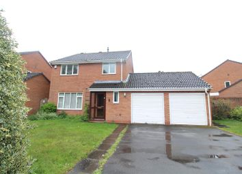 Thumbnail 4 bed detached house to rent in Pantulf Road, Wem, Shrewsbury