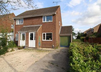 Thumbnail 2 bed semi-detached house for sale in Leslie Close, Freshbrook, Swindon