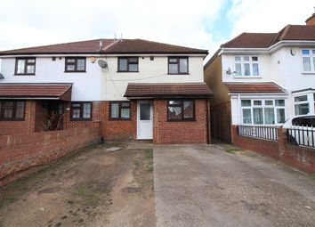 Thumbnail 3 bed semi-detached house to rent in Victoria Gardens, Heston, Hounslow