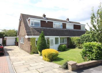 Thumbnail 3 bed semi-detached bungalow for sale in Ashbourne Crescent, Garforth, Leeds