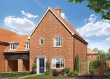 Thumbnail 3 bed link-detached house for sale in Nursery Lane, South Wootton, Norfolk
