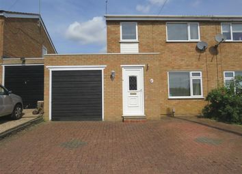 Thumbnail 3 bed semi-detached house for sale in Lynford Way, Rushden